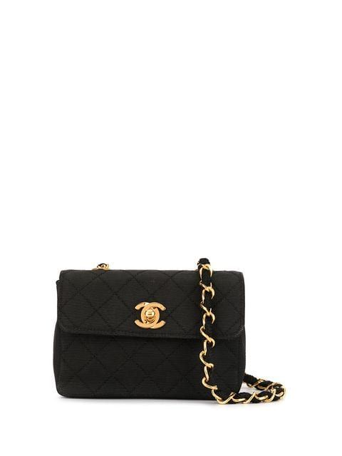 2d782b293c6e Chanel Vintage Quilted Chain Mini Shoulder Bag in 2019 | bags