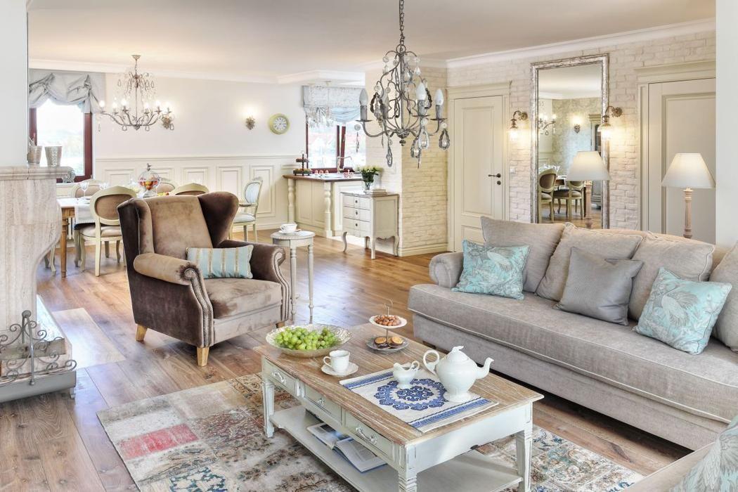 Romantyczny Salon Home Home Decor Furniture