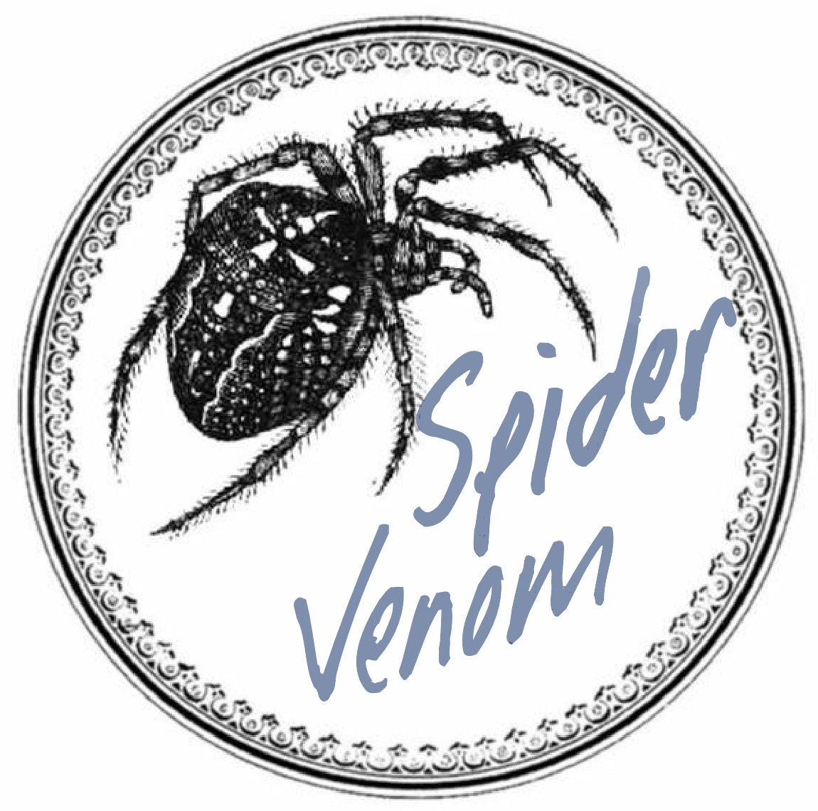 Label Bottle Halloween Apothecary Spider Venom Poison Printable