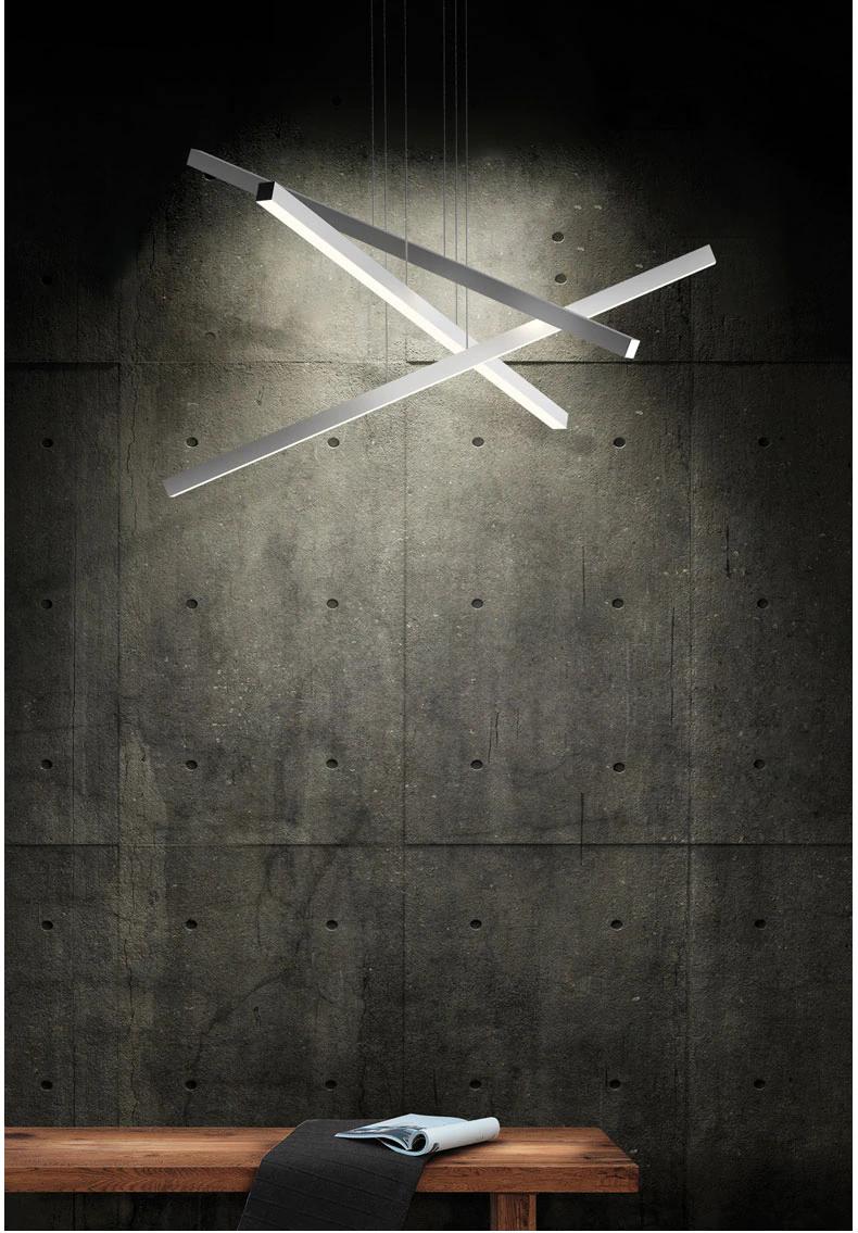 Nordic Metall Rohr Led Anhanger Lichter Schwarz Weiss Esszimmer Led Anhanger Lampe Wohnzimmer Dimmbare Led Anhanger Li Anhanger Lampen Lampen Wohnzimmer Lichter