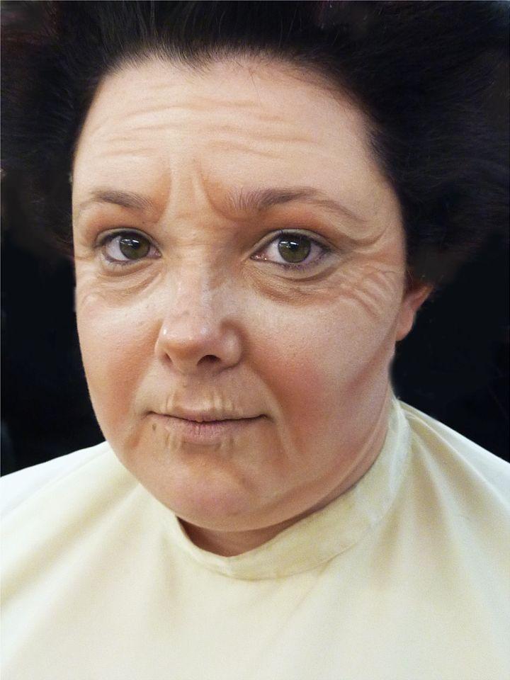 Old lady makeup … | Pinteres…