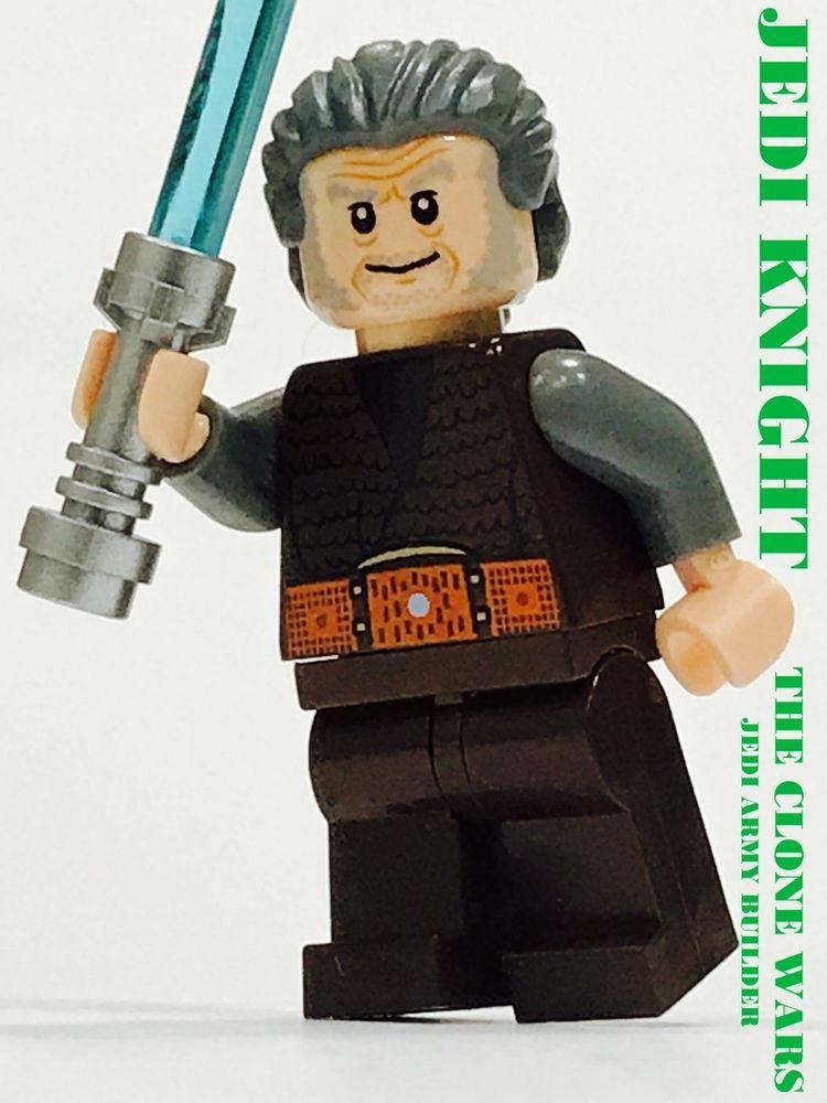 Lego Star Wars Jedi Yoda Anakin Mace Windu Obi Wan Geonosis Arena