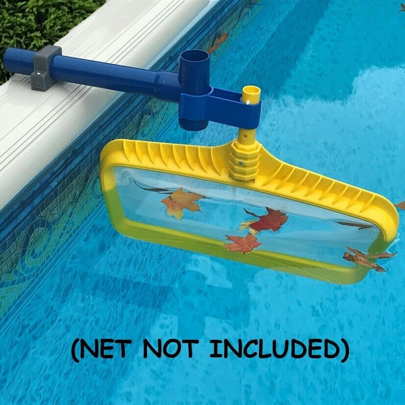 Leaf Bone Above Ground Pool Leaf Skimmer Kit Net Not Included In 2020 Swimming Pool Cleaning Pool Above Ground Pool