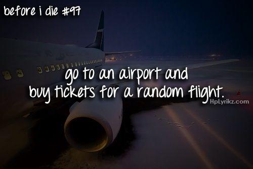 Random flight