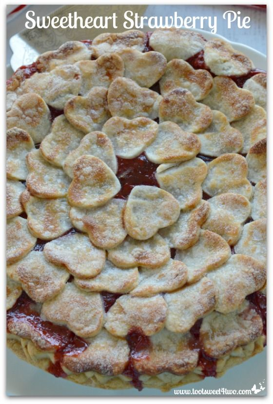 Sweetheart Strawberry Pie