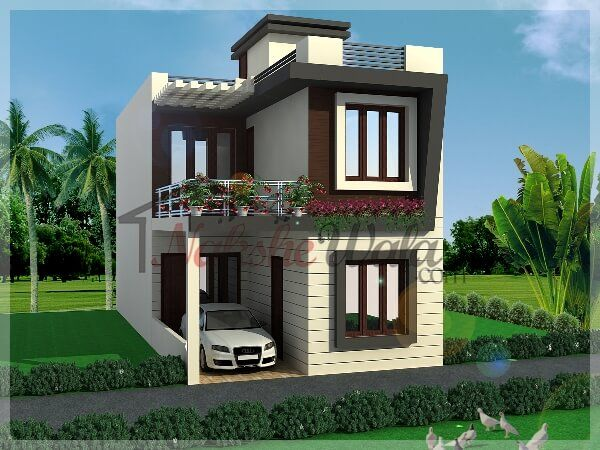 Latest Front Elevation Small House : Modern small houses g my new city challenge