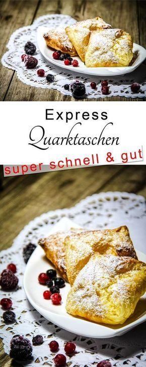Quarktaschen Oppskrift - leichte und schnelle küche