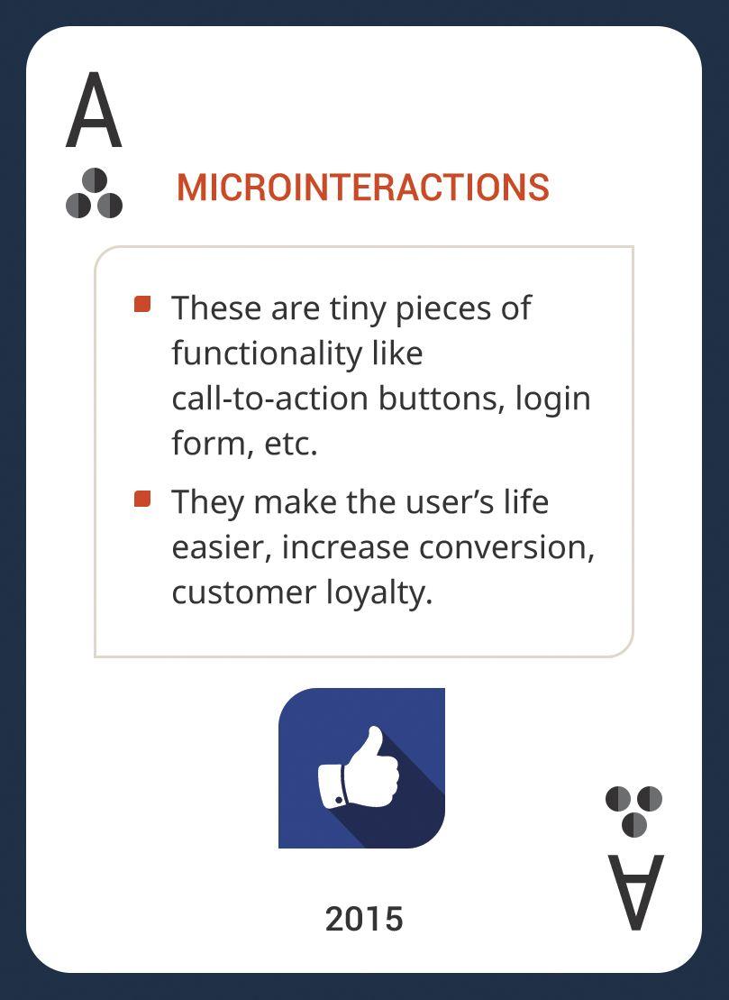 Win This Custom Card Deck & Discover Web Design Trends 2004-2014 https://www.pinterest.com/templatemonster/win-the-web-design-trends-cards/  #webdesigntrends #microinteractions #webdesign