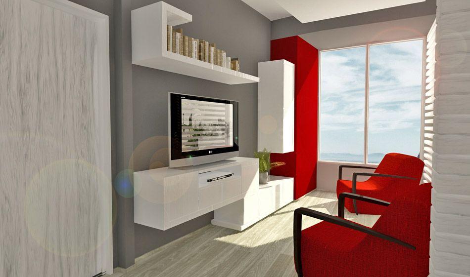 Diseño de interiores. Diseño de muebles y elementos de decoración ...
