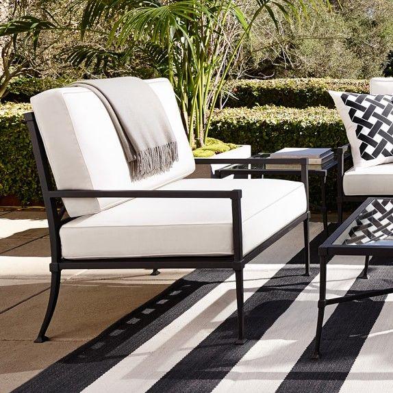 Bridgehampton Outdoor Club Chair