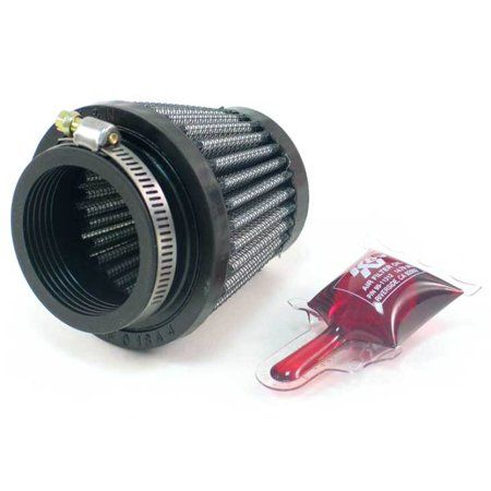 """K/&N Air Filter Element Filtercharger Conical Cotton Gauze Red 4/"""" Dia Inlet"""