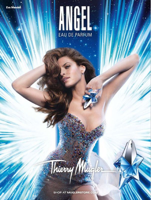 Advert Of The Perfume Angel By Thierry Mugler With Images