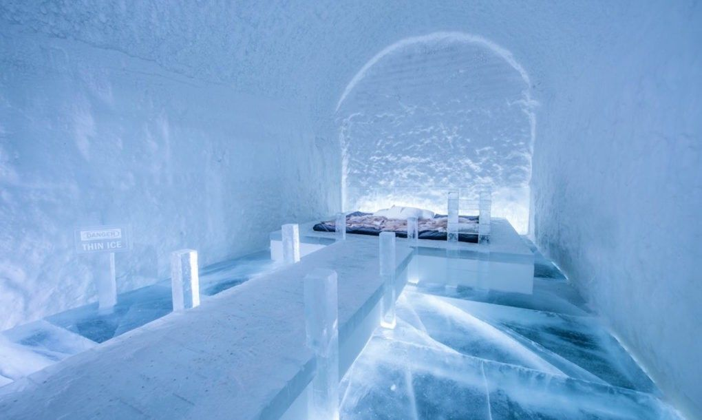 Jaw Dropping Hotel Made Of Ice And Snow Opens In Sweden Ijshotel
