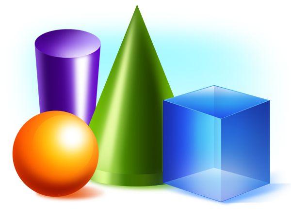 3D-shapes Printouts | Printouts | Pinterest | Shape, 3d shapes and 3d