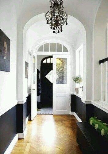 galerie de tapis design pour decoration salon 2018 deco couloir noir ...