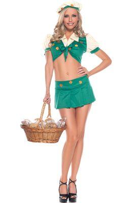 Doubt it. Sexy girl scout halloween costume necessary