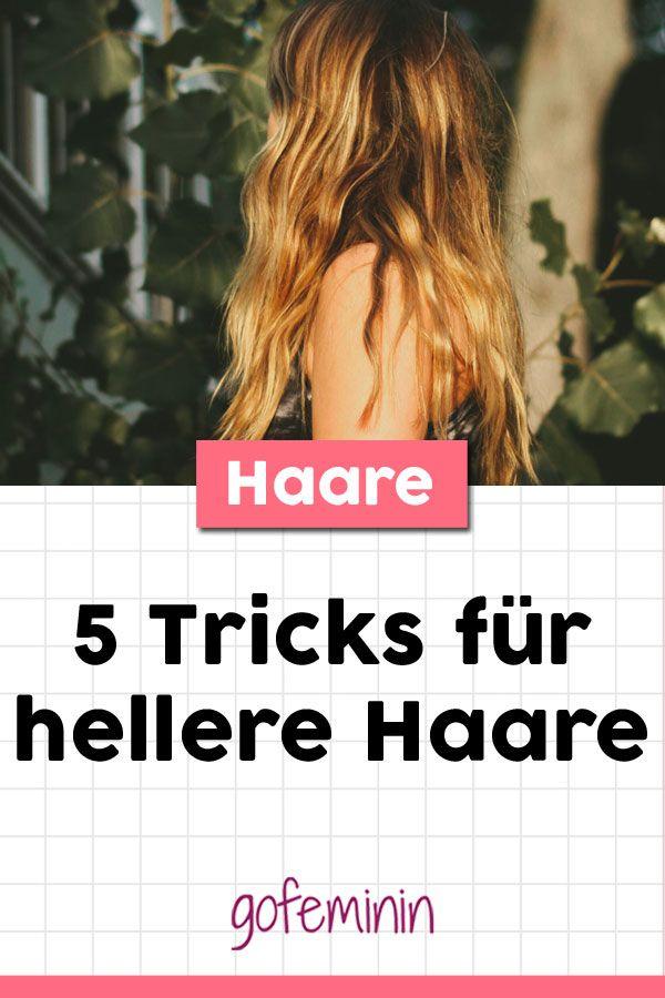 Schiarire i capelli naturalmente: 5 consigli per una chioma solare
