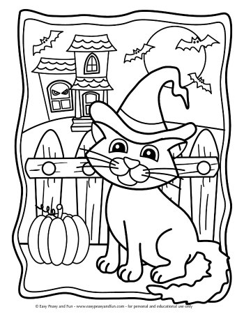 Halloween Coloring Pages Easy Peasy And Fun Halloween Coloring Pages Free Halloween Coloring Pages Halloween Coloring Sheets