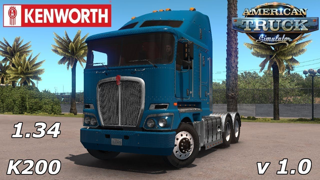 Kenworth K200 Custom 1 34 X American Truck Simulator With