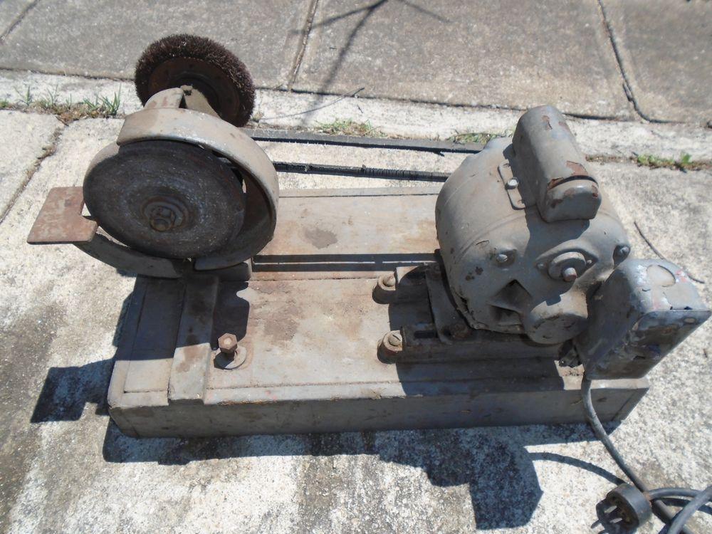 antique arbor bench grinder arbor bench grinder bench grinder