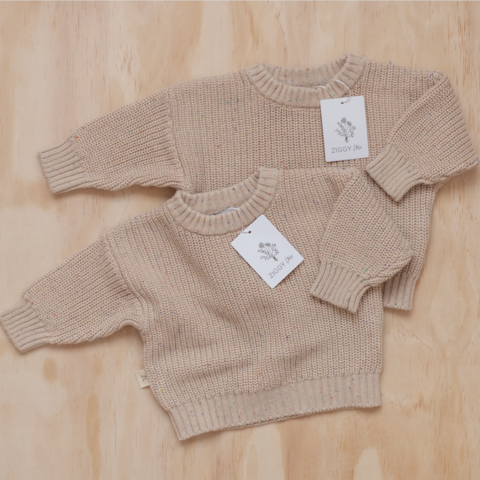 Chunky knit. Newborn clothes. Knitted jumper. Baby beanie. Knitted beanie. Sprinkle knit. Babies in knits. Oversized knitted clothing ☼ #baby #newborn #pregnant #pregnancy #melbourne #newbornphotography #motherhood #birth #baby #postpartum #birthstory #motherhoodblog #babyblog #knittedblanket #mum #igbabies #heirloom #chunkyknit #labour #heirloomblanket #maternity #fresh48 #siliconebib #knittedromper #fringeswaddle #bohoswaddle #chunkyknit #laceswaddle #bohostocking