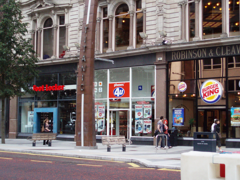 Lol Foot Locker And Burger King In Belfast Mother Daughter Vacation Burger King Felt Hearts