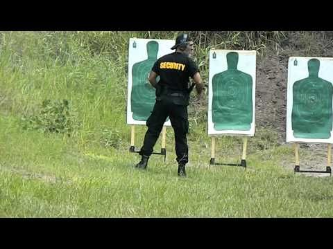 Tactical Training Center Tactical Shooting Range Practice.