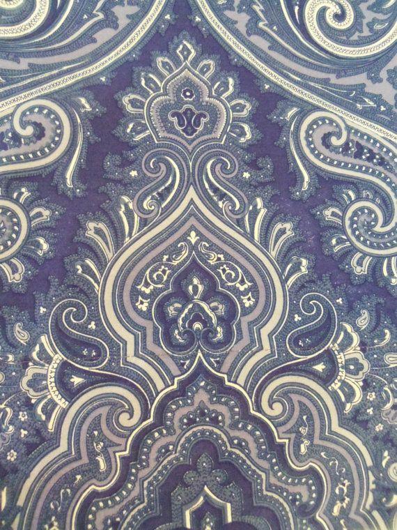 vintage ralph lauren putney paisley bedding inboiserivergoods