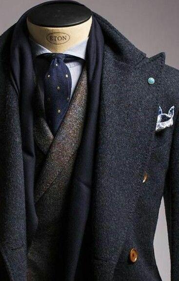 Men's Suit-Suit Up! #style #layers #wool #suit