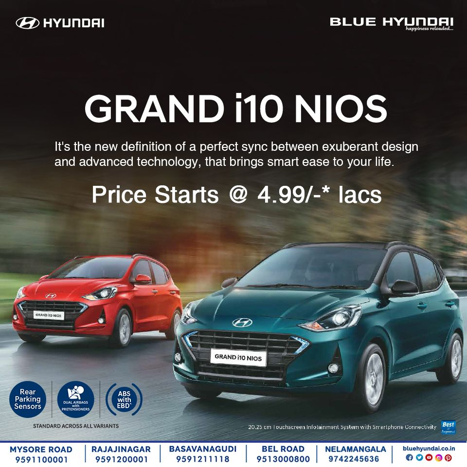 Smart Technology For An Urban Go Getter All New Hyundai Grand I10