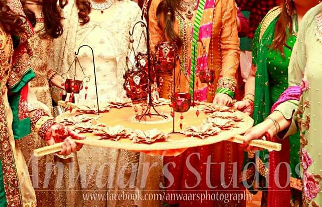 Mehndi Thaal Decoration Ideas I : Mehndi thaal all about wedding and