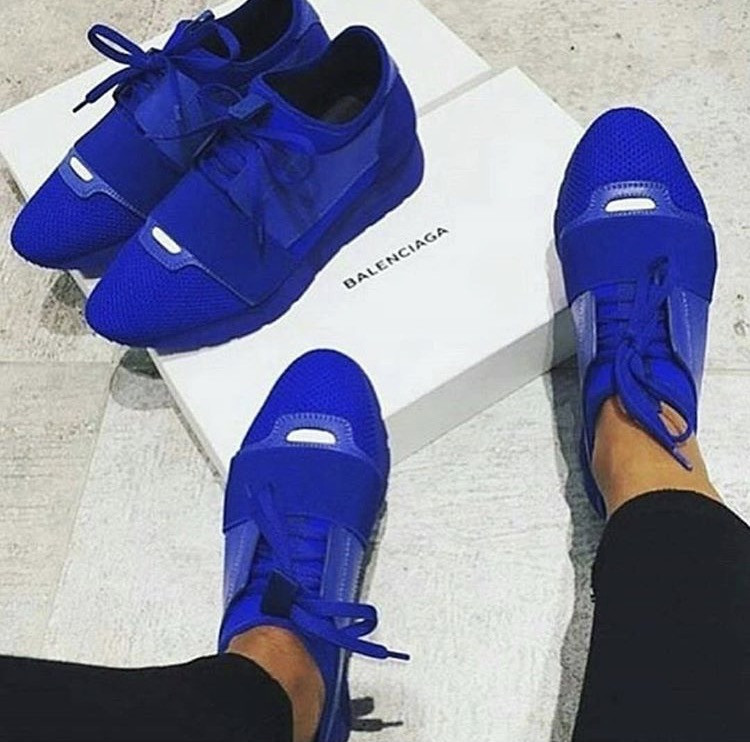 Blue Bal Runners   Sneakers, Shoes