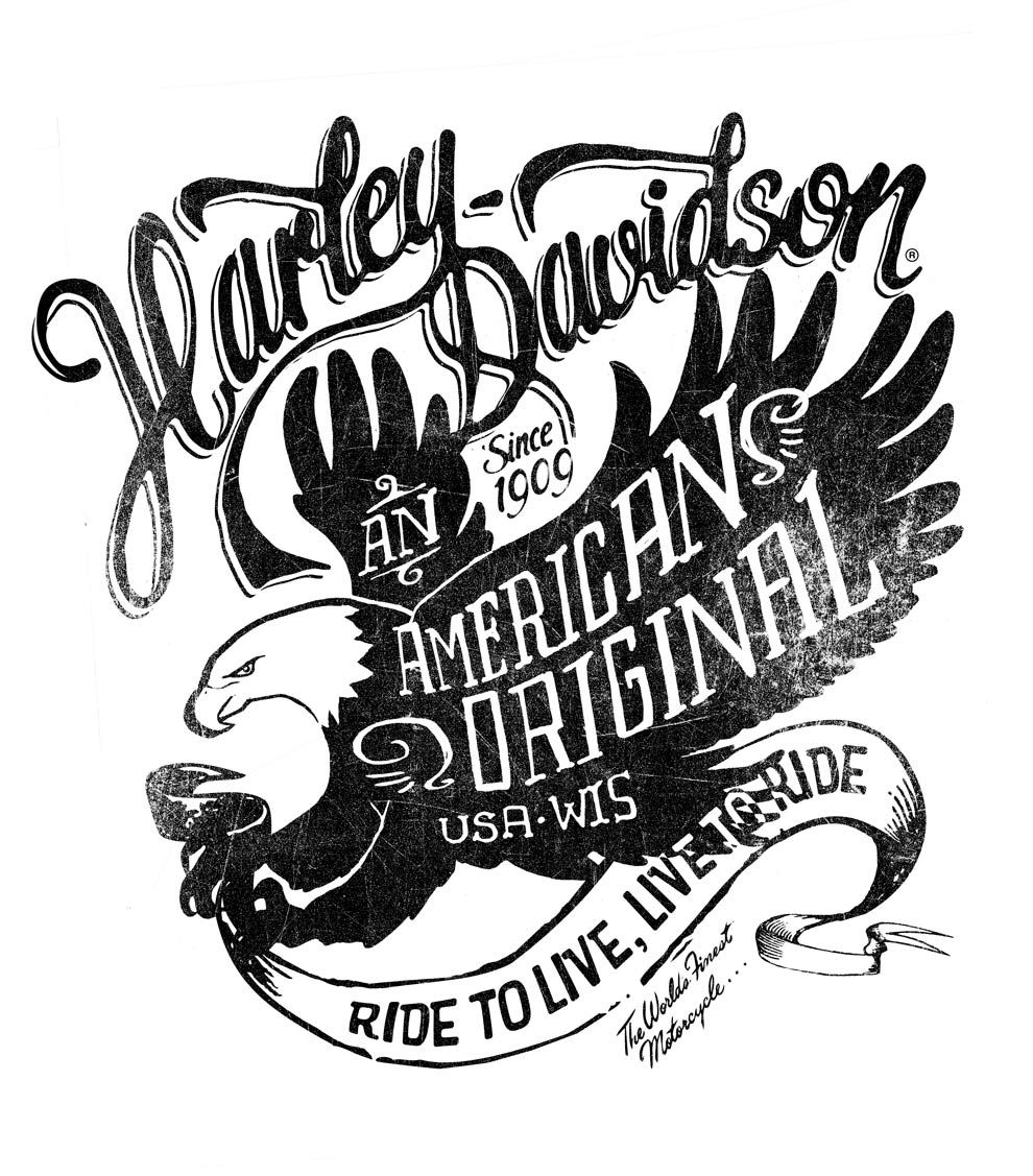 harley davidson symbols coloring pages - photo#36