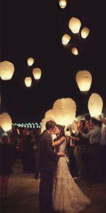 Decorazioni luminose: lanterne volanti per il vostro matrimonio!
