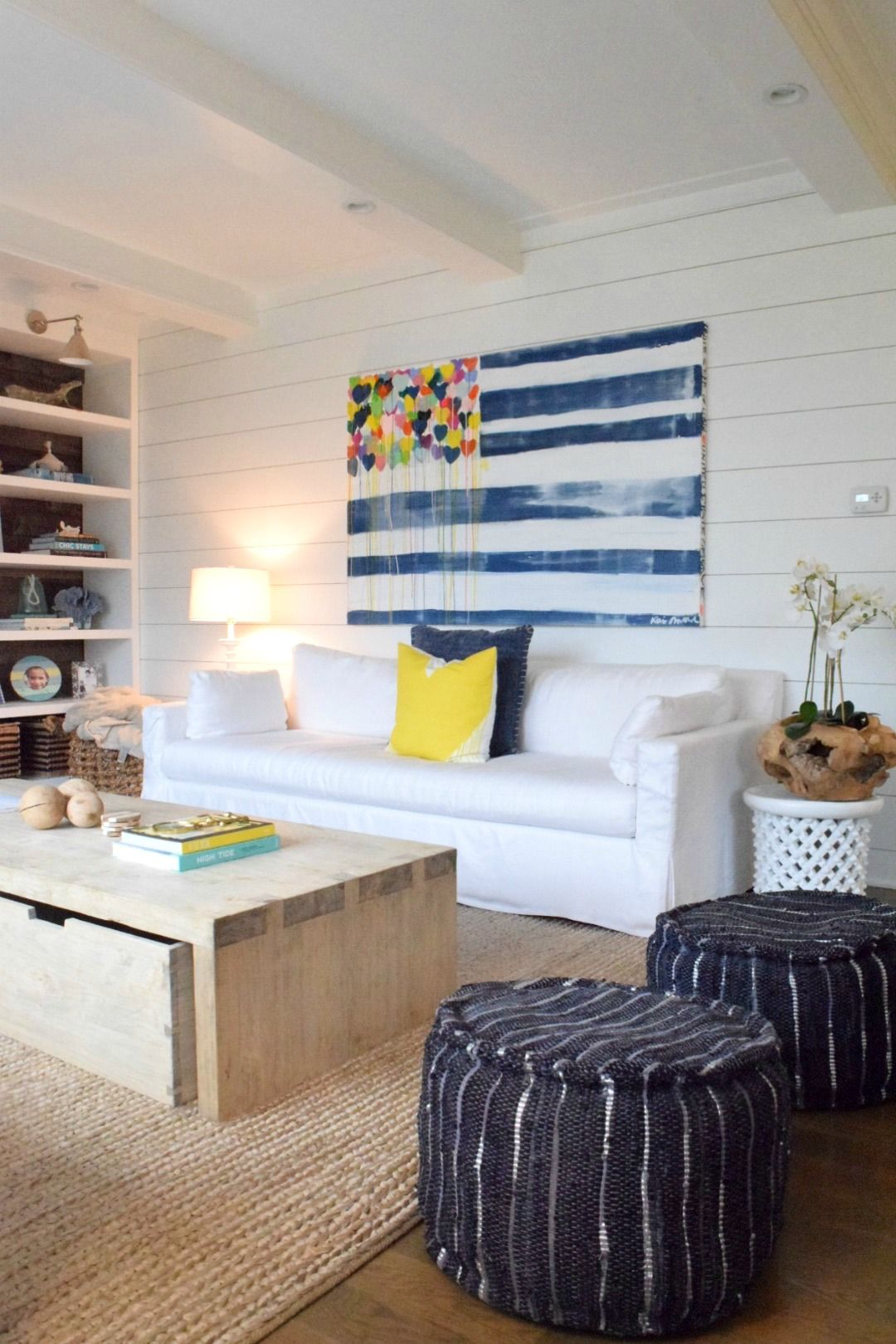 Coastal Living Eclectic Beach House Tour Coastal Living Rooms