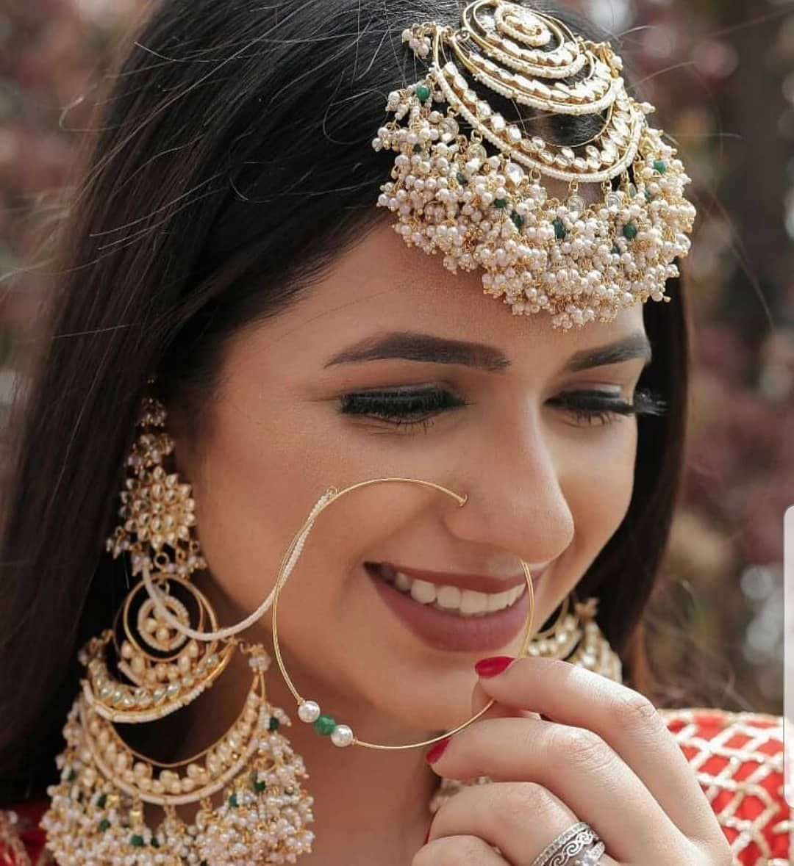 Stylish Heavy Bridal Maang Tikka Design in 2020 | Bridal jewellery indian,  South indian bridal jewellery, Indian wedding jewelry
