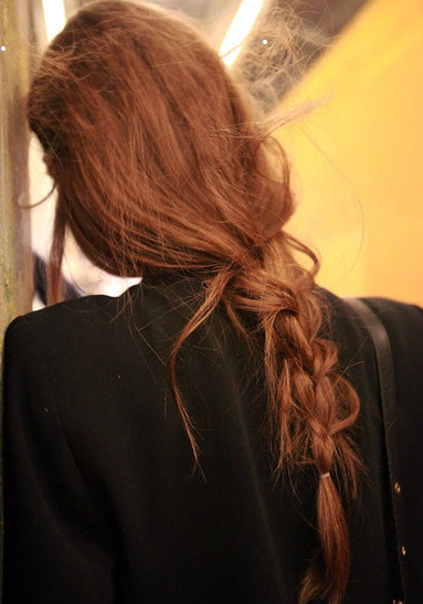 Messy braid #messybraids