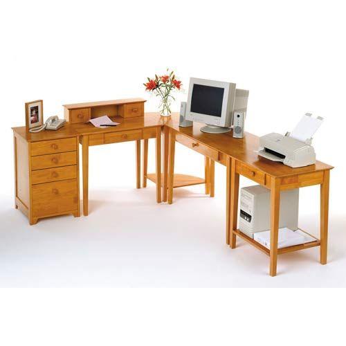 Five Piece Studio Home Office Set Winsome Wood Desks Computer Desks Home Office Furniture