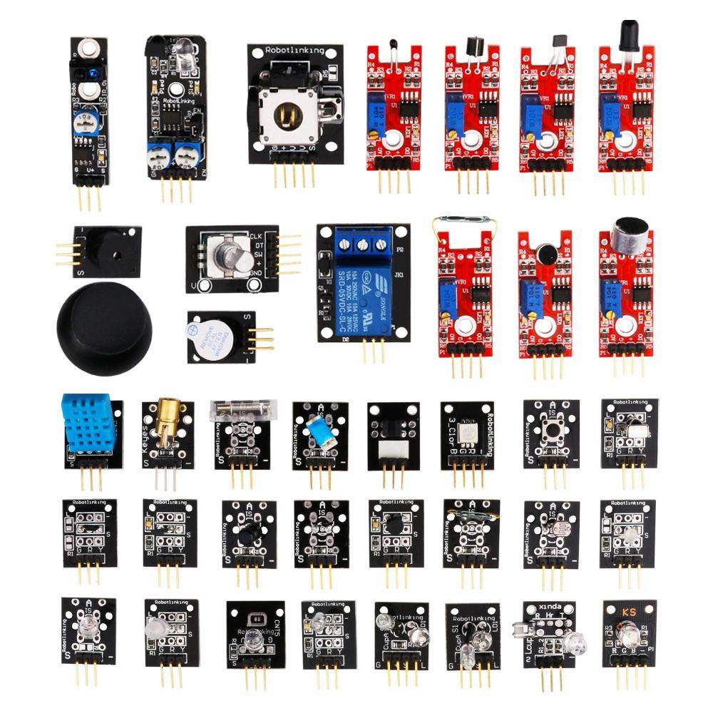 Adeept ultimate starter learning kit set for arduino r3 LCD1602 servo process FD