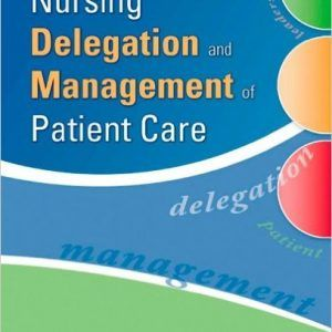 Test bank nursing delegation and management of patient care 1st test bank nursing delegation and management of patient care 1st edition by motacki fandeluxe Image collections