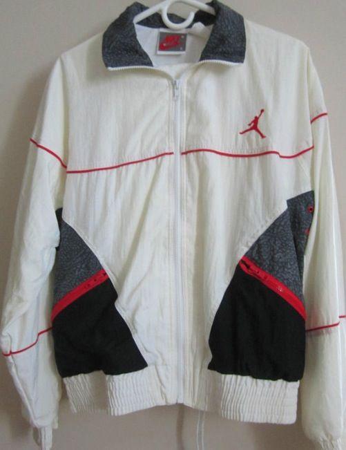 AJ 3 - White colour range Warm up suit