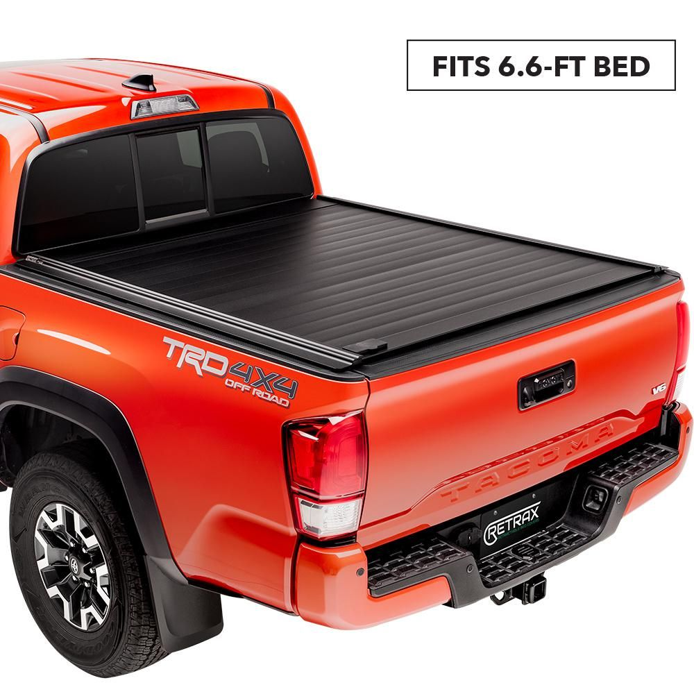 Retrax Pro Mx Tonneau Cover 16 19 Nissan Titan King Cab 6 6 Bed 80752 The Home Depot Tonneau Cover Truck Bed Covers Toyota Tacoma Bed Cover