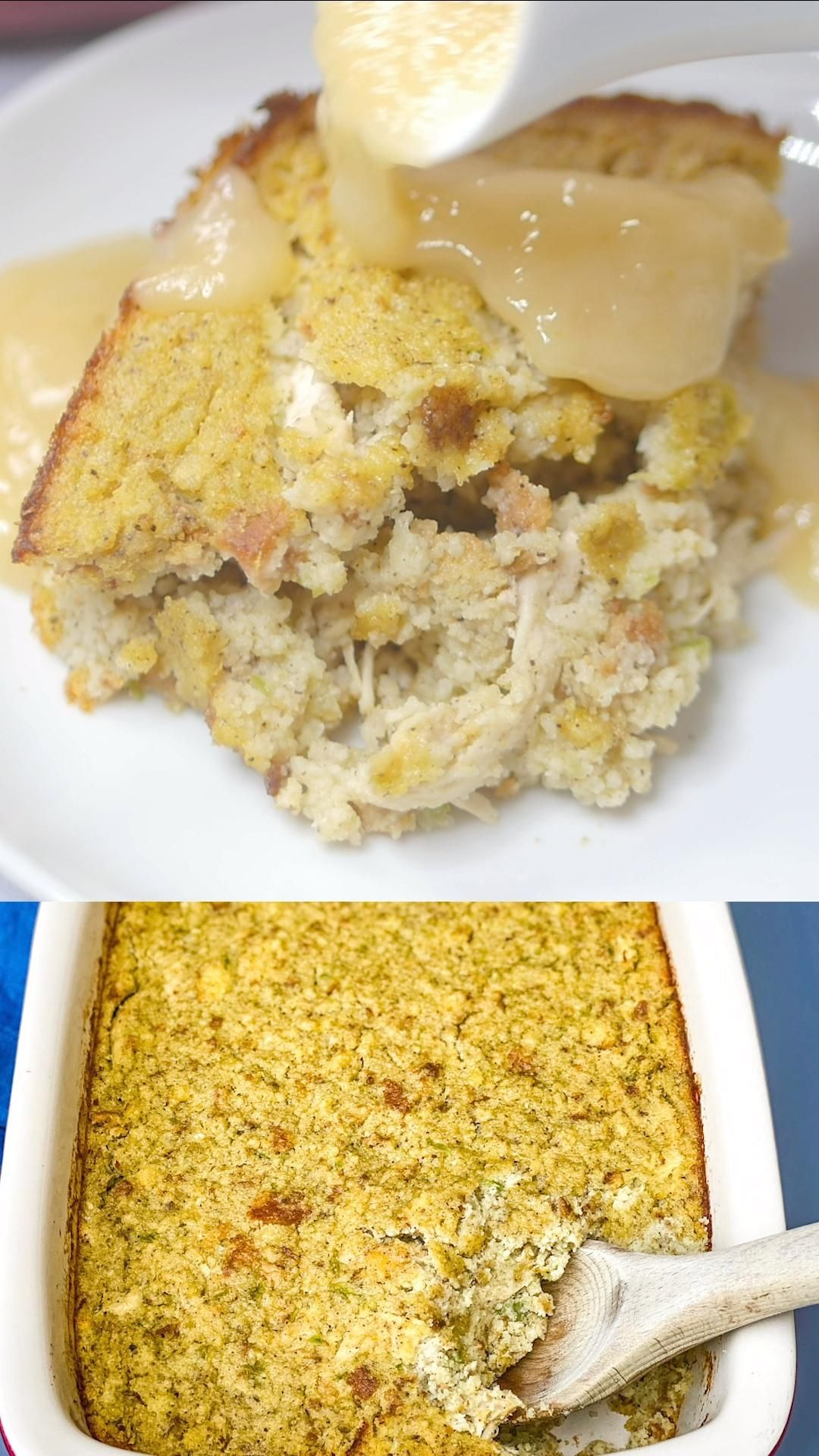 Easy Southern Cornbread Dressing -   18 cornbread dressing southern stuffing recipes ideas