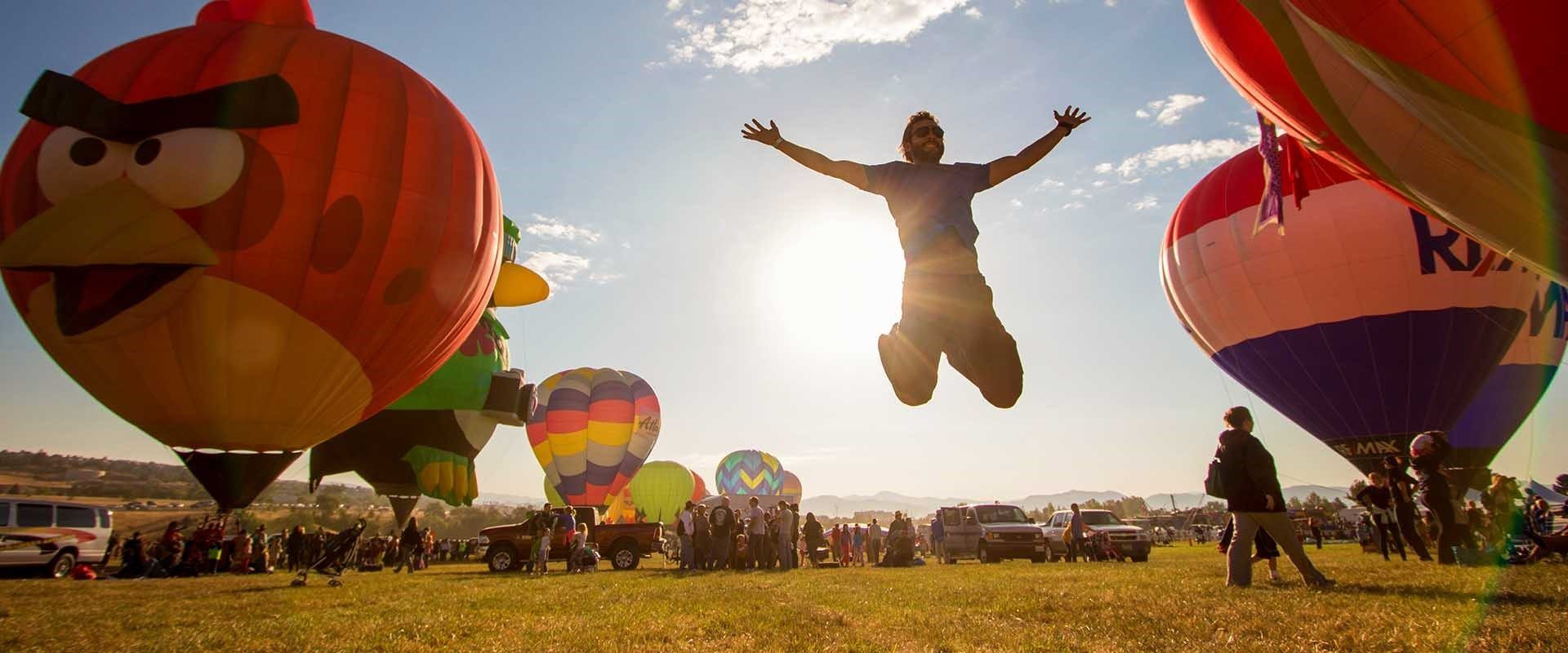 The Great Reno Balloon Race is the largest free hotair
