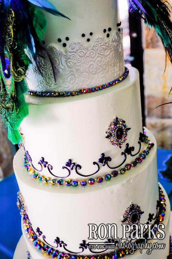 Mardi Gras Wedding Cake Keywords: #mardigrasweddings ...