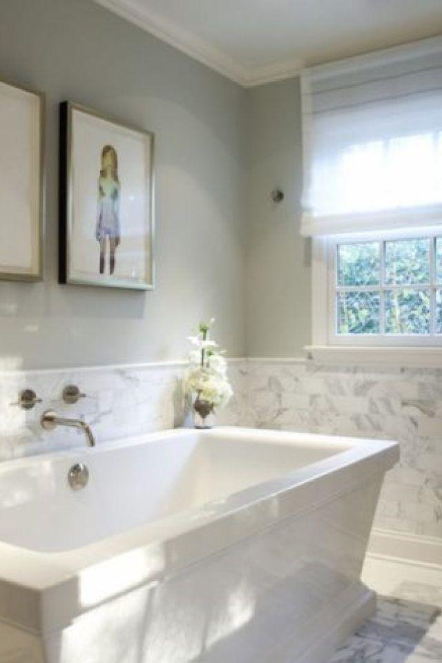 4 Half Tiled Bathroom Ideas View Full Size Gorgeous Bathroom Features Top Half Half Tiled Bathroom Wall Panels Bathroom Wall Tile Painting Bathroom Walls