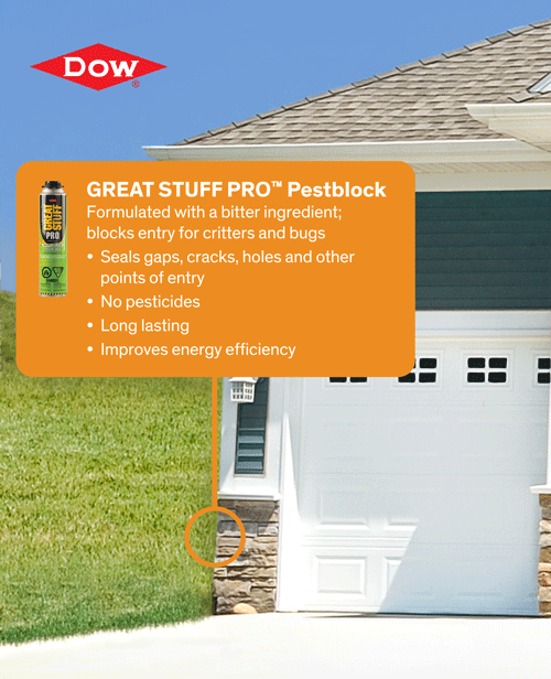 Don't just seal air in, seal bugs out! Block pests out with our