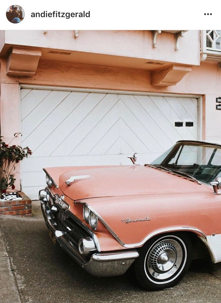Pinterest thesidekick Peach aesthetic, Vintage cars