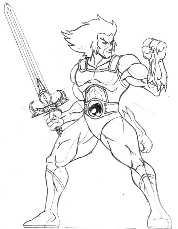 Thundercats coloring pages 11