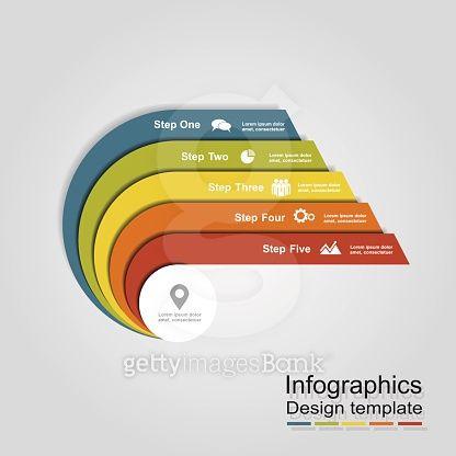 Infographic design template Vector illustration 1 Pinterest